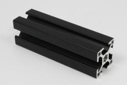 easy systemprofile aluprofil schwarz aluminiumprofil 30x30 schwarz strebenprofil schwrz 30x30. Black Bedroom Furniture Sets. Home Design Ideas